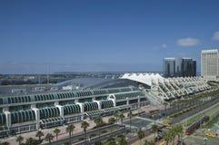 Centro de convenção de San Diego Fotos de Stock Royalty Free
