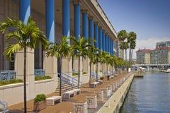 Centro de convenção de Tampa foto de stock