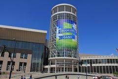 Centro de convenção do palácio de sal Imagem de Stock Royalty Free