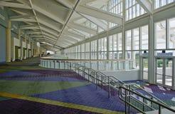 Centro de convenção interno imagens de stock