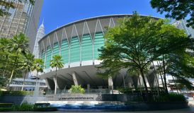Centro de convención de Kuala Lumpur Imagen de archivo libre de regalías