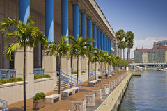 Centro de convención de Tampa foto de archivo