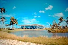 Centro de convención ecuatorial Fotografía de archivo libre de regalías