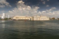 """Centro De Convenciones Cartagena De Indias """"Julio Cesar Turbay Ayala « fotografia royalty free"""