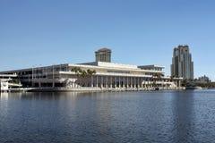 Centro de convenio de Tampa la Florida fotografía de archivo