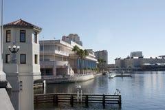 Centro de convenio de Tampa la Florida fotografía de archivo libre de regalías