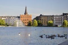 Centro de Copenhague Fotografía de archivo libre de regalías