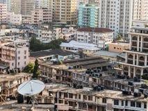 Centro de Dar es Salaam, Tanzania Imágenes de archivo libres de regalías