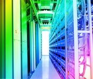 Centro de datos Fotografía de archivo libre de regalías