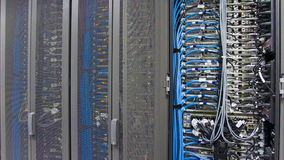 Centro de datos almacen de metraje de vídeo