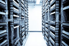 Centro de datos de la red Fotografía de archivo libre de regalías