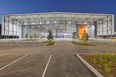 Centro de deportes interiores de GC2018 Coomera Fotos de archivo libres de regalías