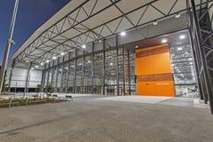 Centro de deportes interiores de GC2018 Coomera Imagen de archivo libre de regalías