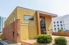 Centro de Dexter Avenue King Memorial Legacy foto de stock