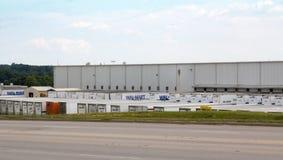 Centro de distribución de Wal-Mart Fotografía de archivo libre de regalías