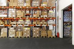 Centro de distribuição fotografia de stock