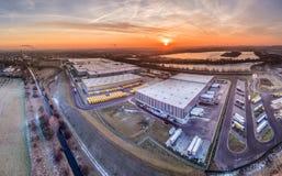 Centro de distribuição das Amazonas Imagem de Stock Royalty Free