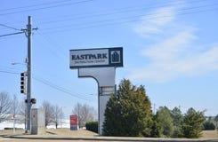 Centro de distribuição do leste do parque, Memphis, TN foto de stock