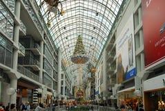 Centro de Eaton - Toronto, Canadá Foto de archivo