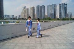 Centro de esportes da baía de Shenzhen Foto de Stock Royalty Free