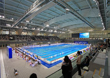 Centro de esportes oriental de Shanghai Fotografia de Stock