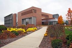 Centro de estudiante en un campus universitario Imagenes de archivo