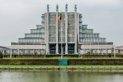 Centro de exposição de Bruxelas Fotografia de Stock