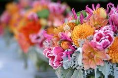 Centro de flores Fotos de archivo