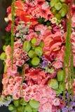 Centro de flores colorido Imagenes de archivo