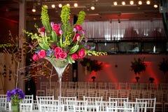 Centro de flores colorido Fotos de archivo