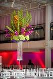 Centro de flores colorido Imagen de archivo