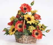 Centro de flores de acrílico plástico Fotografía de archivo libre de regalías