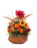 Centro de flores del otoño Imagen de archivo
