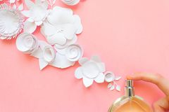 centro de flores Flores, fragancia, perfume Fotos de archivo libres de regalías