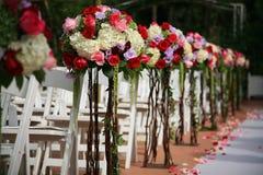 Centro de flores hermoso foto de archivo