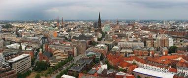 Centro de Hamburgo Fotografía de archivo libre de regalías