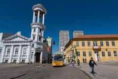 Centro de Hisorical de la ciudad de Curitiba Fotos de archivo