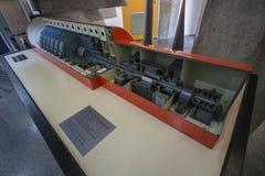 Centro de Informação de Itaorna - πυρηνικές εγκαταστάσεις Angra Στοκ Φωτογραφίες