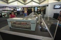 Centro de Informação de Itaorna - ядерная установка Angra Стоковые Фотографии RF