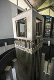 Centro de Informação de Itaorna - ядерная установка Angra Стоковое Изображение