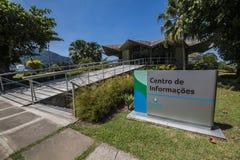 Centro de Informação de Itaorna - ядерная установка Angra Стоковые Изображения