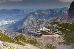 Centro de informação das montanhas de Karwendel Imagem de Stock Royalty Free