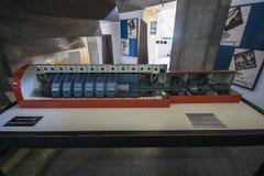 Centro de Informação de Itaorna - Angra Nuclear Plant Stock Photos