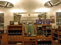 Centro de informação do governo na biblioteca foto de stock royalty free