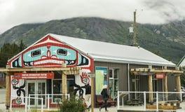 Centro de informação do visitante de Carcross Imagens de Stock Royalty Free