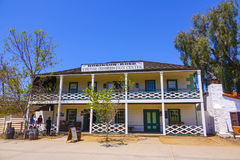 Centro de información de visitante en el parque de San Diego Old Town State Historic - SAN DIEGO/CALIFORNIA - 21 de abril de 2017 Imágenes de archivo libres de regalías