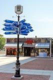 Centro de información turística Fotografía de archivo libre de regalías