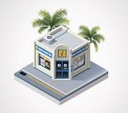 Centro de información turística isométrico del vector libre illustration