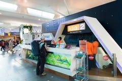 Centro de información en Kuala Lumpur International Airport 2 Fotos de archivo