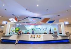 Centro de información turística en Kuala Lumpur International Airport Imágenes de archivo libres de regalías